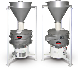Vibratory Screener with Batch Hopper Feed Control