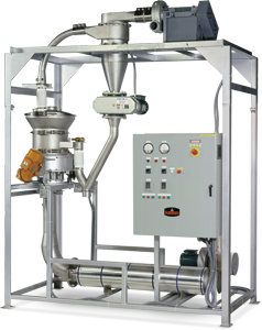 High-Temperature Fluid Bed Batch Dryer