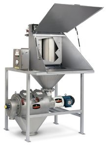 Centrifugal Sifter with Bag Dump Station