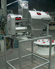 Sanitary, Quick-Clean Centrifugal Sifter