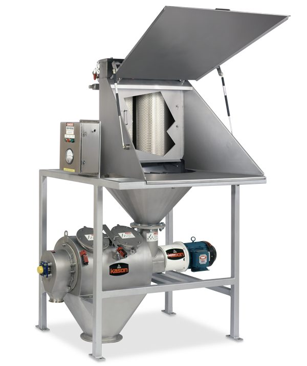 Centrifugal Sifter With Bag Dump Station image