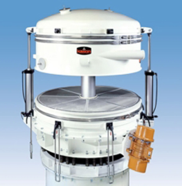 Ultra-High Capacity In-Line Pneumatic Sifter image